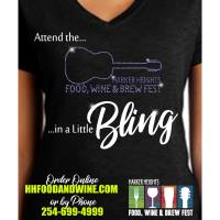 Bling T-Shirt for Food, Wine and Brew Fest