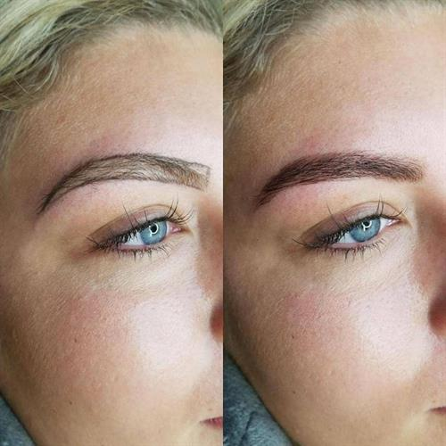 Beautiful Brows with no make-up !  This is my new Brow Henna