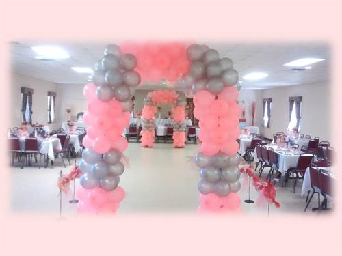 Balloon Arches available for your event.  Ask me about the many ways this item can be used