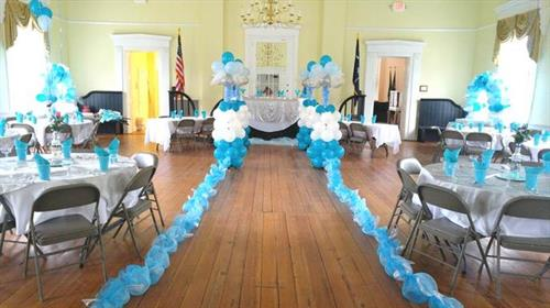 Quinceanera right here at the Chamber - Roberts Mills Courthouse