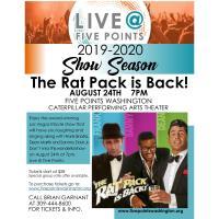 Rat Pack is Back Live Show! at Five Points Washington