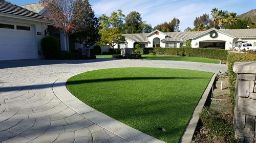 Tough Turtle Turf residential install