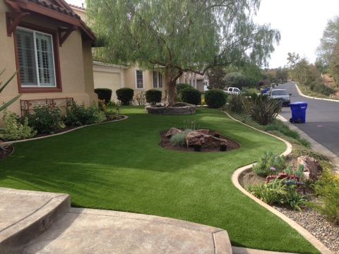 Front Yard install by Tough Turtle Turf