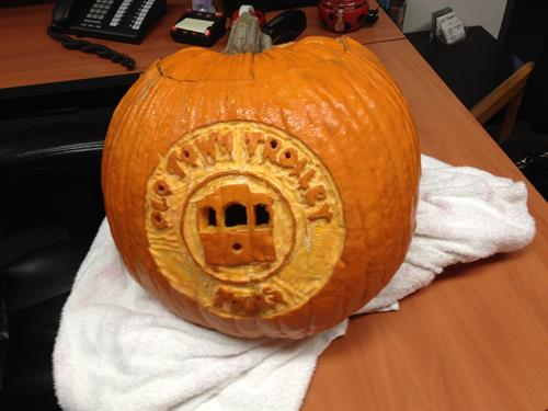 Yes, we can do pumpkins for our clients