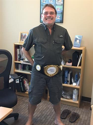 Sales Award Idea - MMA Belt