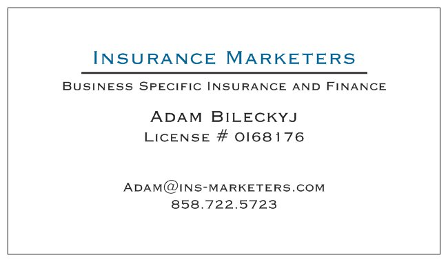 Insurance Marketers