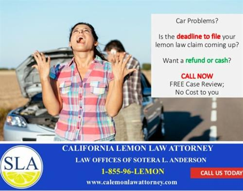 Lemon Law Sotera 955-965-3666
