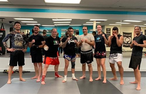 Muay Thai Sparring Night