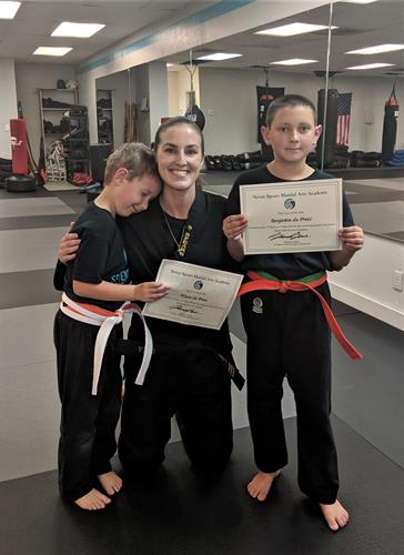Kids Karate Belt Promotions