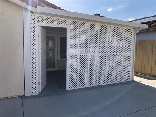 ENCLOSED PATIO 92126 NEED FOR BUILD
