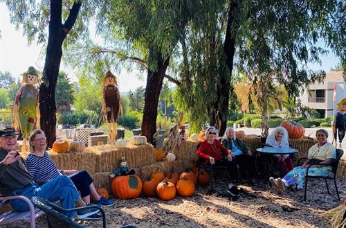 Poway Gardens Pumkin Patch for our residents