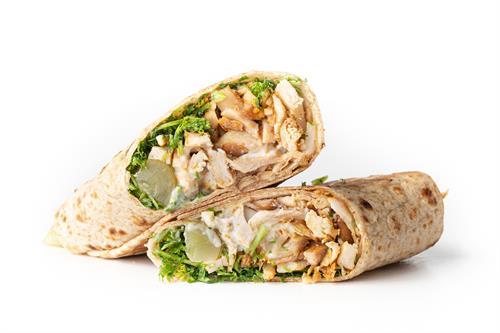 Chicken & Garlic Wrap