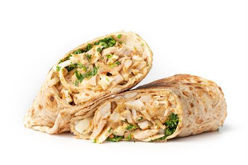 Chicken & Spicy Garlic Wrap