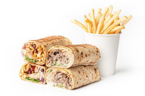 Sandwich Combo (2 Sandwiches + Fries)