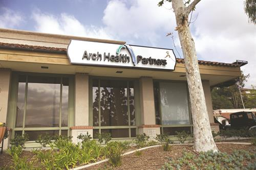 Arch Health Partners - Rancho Penasquitos location, for Family Medicine providers Dr. Scott Miller and Dr. Amy Trewella