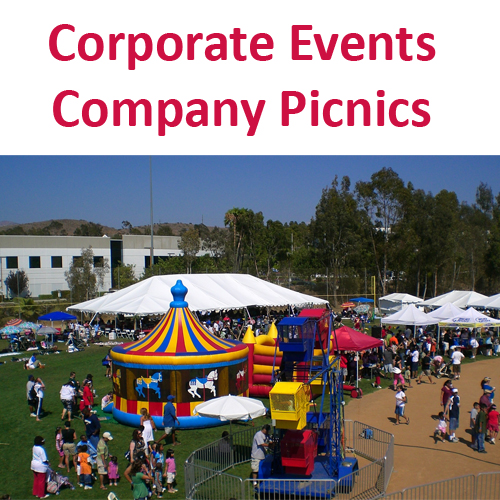 Corporate Events and Company Picnics