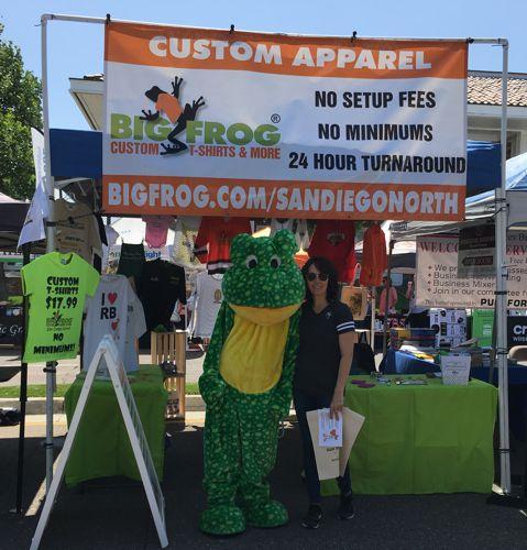 Big Frog at the Poway Street Fair