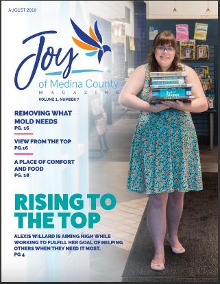 August 2018 issue JoyofMedinaCountyMagazine.com