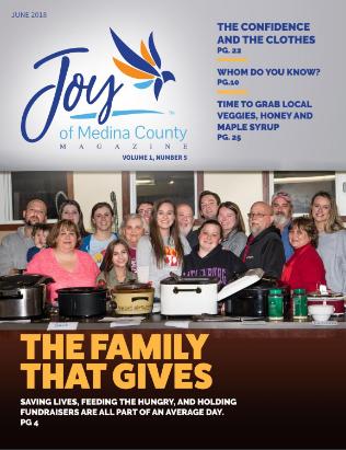 June 2018 issue issue JoyofMedinaCountyMagazine.com