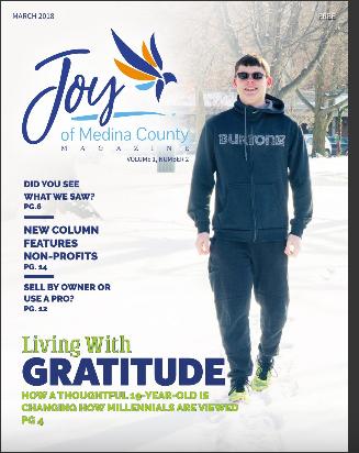 March 2018 issue JoyofMedinaCountyMagazine.com