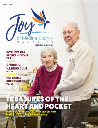 May 2018 issue JoyofMedinaCountyMagazine.com