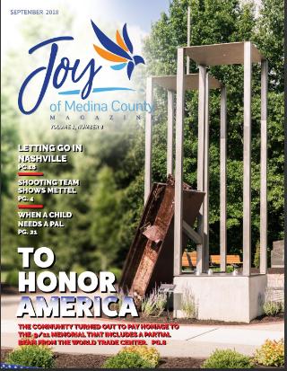 September 2018 issue JoyofMedinaCountyMagazine.com