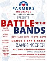 News Release: BATTLE OF THE BANDS / Calling All Bands!