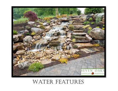 Cool off with a water feature!