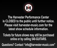 Updated Show Information Harvester Performance Center