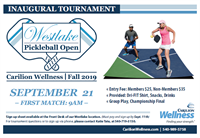 INAUGURAL WESTLAKE PICKLEBALL OPEN