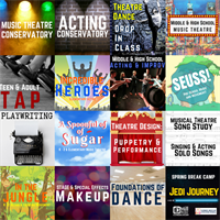 Register for Spring Classes at Mill Mountain Theatre Conservatory