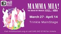 Mamma Mia! at Mill Mountain Theatre