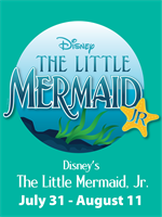 The Little Mermaid Jr at Mill Mountain Theatre