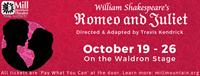 Romeo & Juliet at Mill Mountain Theatre