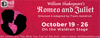 Romeo & Juliet at Mill Mountain Theatre