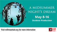 A Midsummer Night's Dream at Mill Mountain Theatre
