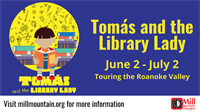 Tomás and the Library Lady at Mill Mountain Theatre
