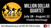 Million Dollar Quartet at Mill Mountain Theatre