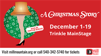 A Christmas Story at Mill Mountain Theatre
