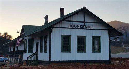 Boones Mill Railway Depot