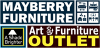 RIBBON CUTTING - Mayberry Furniture / A Shade Brighter