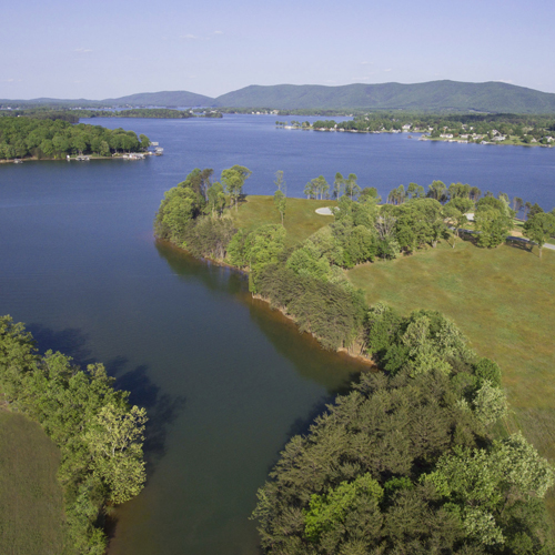 Nestled in Union Hall on 7,000 feet of central Virginia's pristine Smith Mountain Lake shoreline lies some of the last undeveloped and most sought after 110+ acre premier waterfront property—Kennedy Shores.
