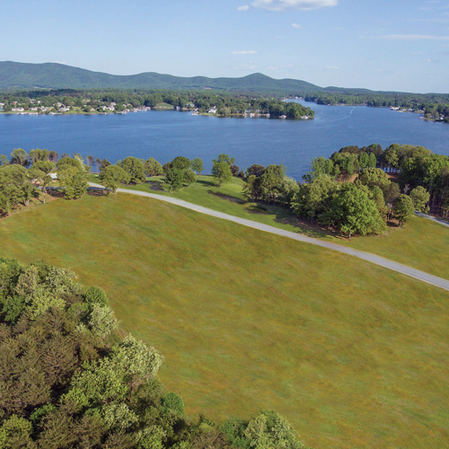 Surrounded by mountains, Smith Mountain Lake is Western Virginia's biggest playground. The fully recreational lake encompasses 32 square miles holds 20,600 acres of water and has over 500 miles of shoreline.