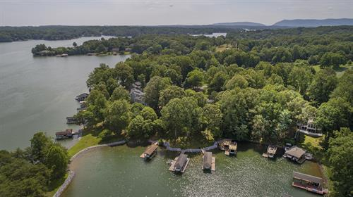 Waterfront Townhouse - Aerial Dock