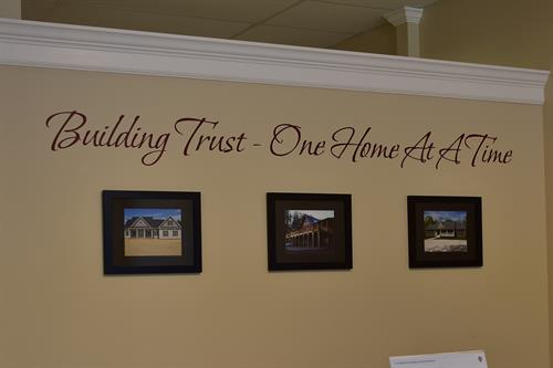 Building Trust - One Home at a Time