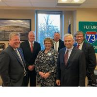 SML Regional Chamber of Commerce leaders meet with state legislators