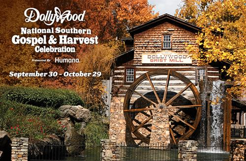 http://www.dollywood.com/themepark/Festivals/National-Southern-Gospel-Harvest-Celebration