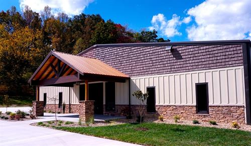 Conveniently located on Highway 321, Across from Carver's Apple Orchard.