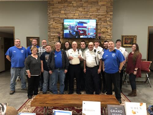 Community Support:  Cosby Fire Department
