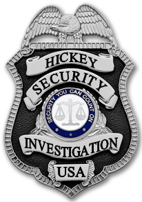 Hickey Security and Investigation Badge